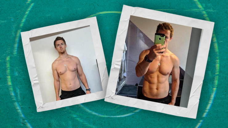 Personal trainer sheds light on the secrets of 'before and after' photos