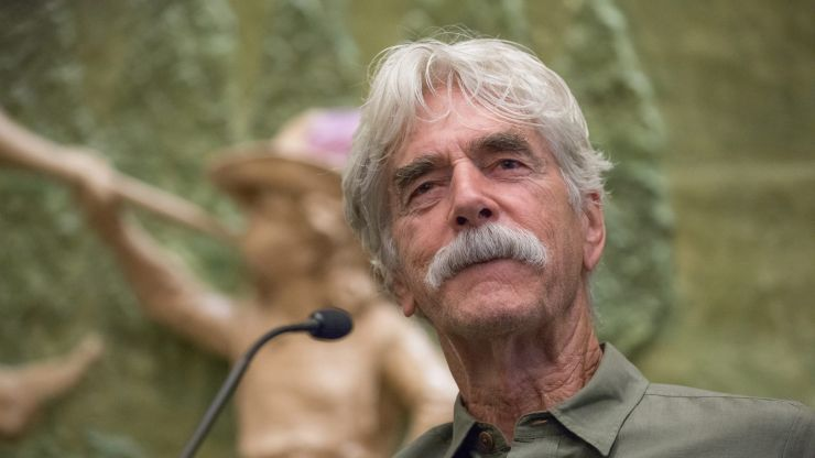 Sam Elliot will replace Adam West as mayor of Quahog on Family Guy