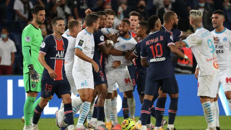 Marseille release first statement following brawl with PSG