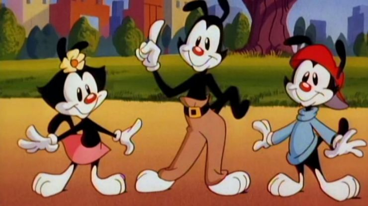 Classic 90s cartoon Animaniacs is getting rebooted, and here's the first trailer