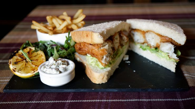 Chef spends 10 years coming up with recipe for the perfect fish finger sandwich