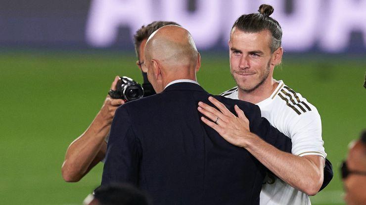 Zinedine Zidane did not say goodbye to Gareth Bale