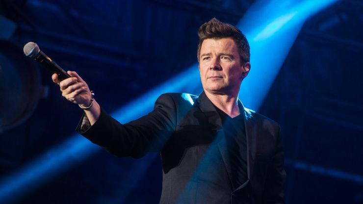 Mortified BBC presenter accidentally insults Rick Astley to his face