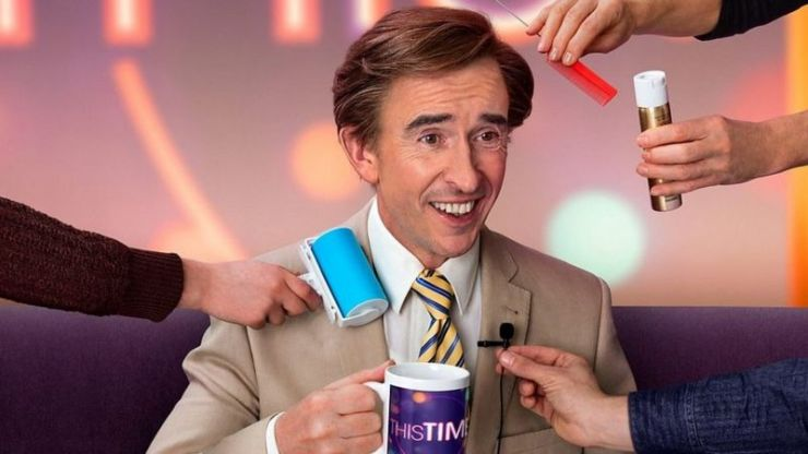 A statue of Alan Partridge has been erected in Norwich