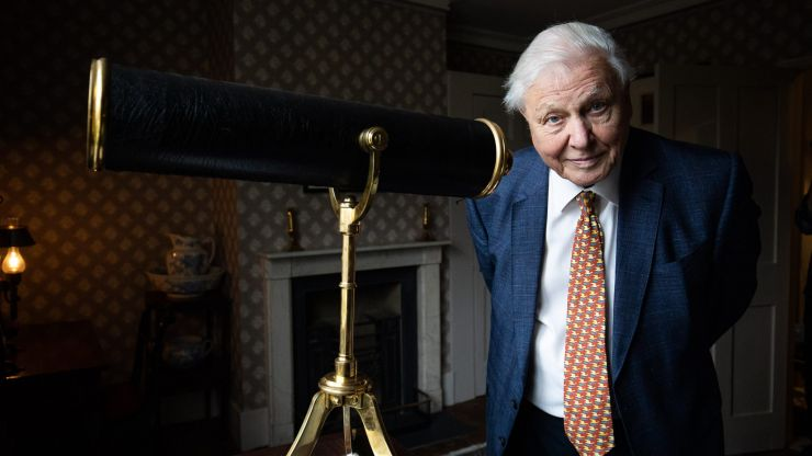 David Attenborough becomes fastest person to get a million Instagram followers