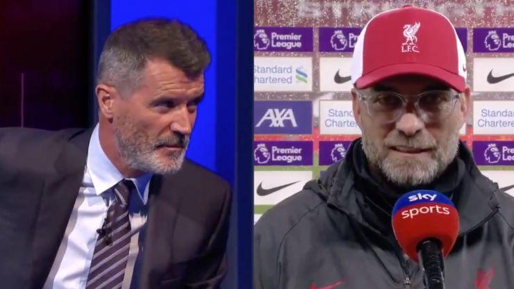 """Jurgen Klopp calls out Roy Keane for """"sloppy"""" comment"""