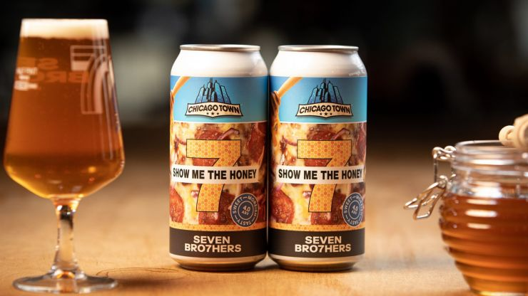 Chicago Town have made a special beer that goes perfectly with pizza