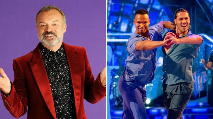 Graham Norton apologises for questioning same-sex couples on Strictly
