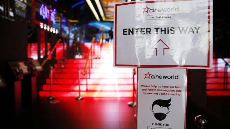 Cineworld confirms it is temporarily closing all its UK and US cinemas