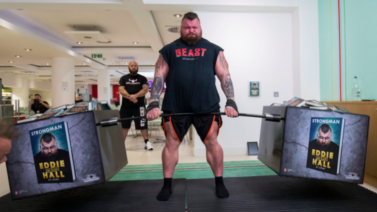 Eddie Hall on how to eat and drink for maximum muscle gains