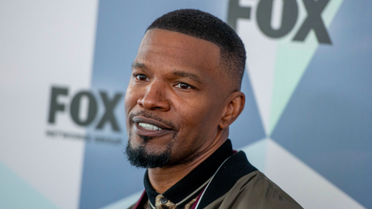 Jamie Foxx describes how he is bulking up to play Mike Tyson