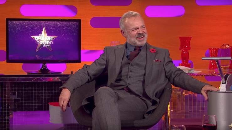 Tonight's Graham Norton show has a very impressive line-up of guests