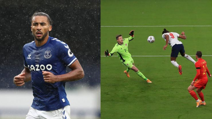 Dominic Calvert-Lewin's dad posts touching tribute to son after England debut goal