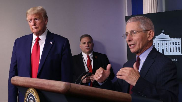 Anthony Fauci slams Trump for including him in a campaign advert