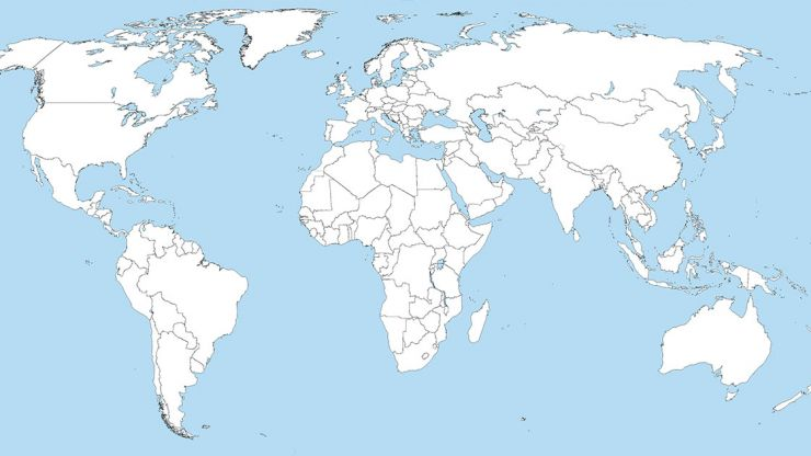 QUIZ: Can you identify these capital cities on a map?