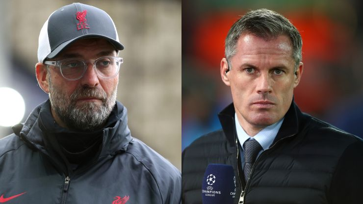 Jurgen Klopp questions Jamie Carragher over centre-back transfer comments