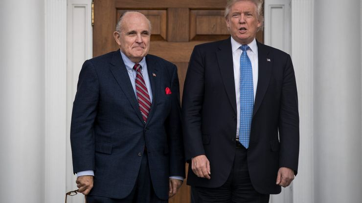 "Borat 2 scene is ""complete fabrication"" says Rudy Giuliani"