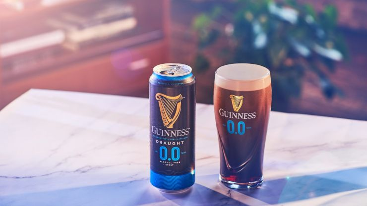 Guinness to launch alcohol-free Guinness 0.0 in the UK this month