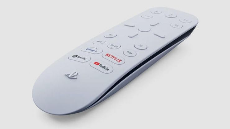 PlayStation 5 remote control has Netflix, Disney+ and Spotify buttons
