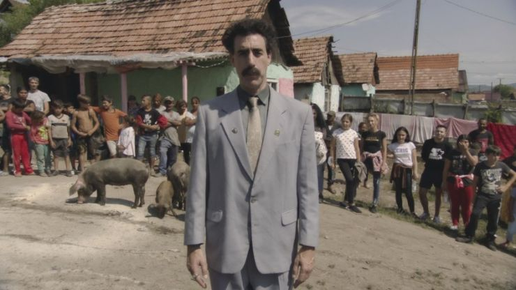 Borat 'defends' Rudy Giuliani's 'sexytime' encounter following major controversy
