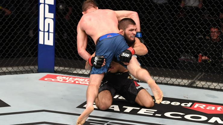 Khabib Nurmagomedov only lost two rounds during his entire UFC career