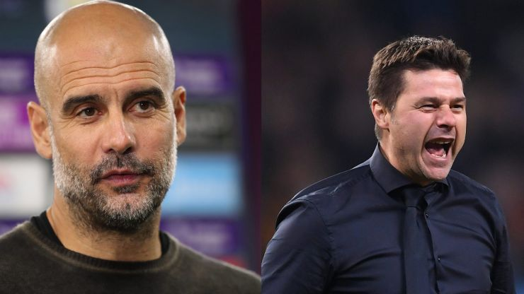 Mauricio Pochettino one of two candidates to replace Pep Guardiola at Man City