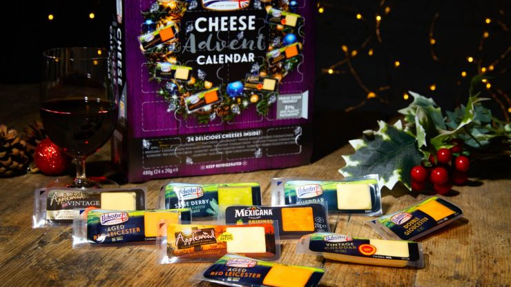 This cheese advent calendar is sending cheese fans absolutely wild