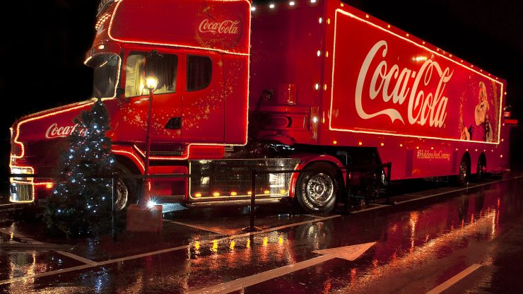 The Coca-Cola Christmas truck tour is cancelled this year