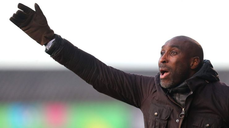 Sol Campbell in the running to replace Garry Monk at Sheffield Wednesday