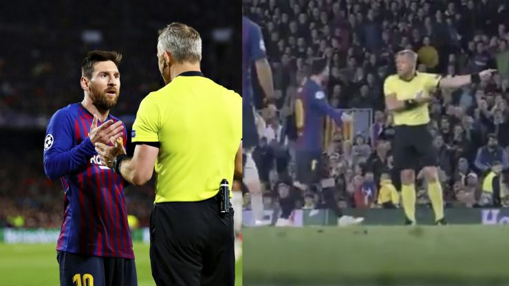 "Referee told Lionel Messi to ""show some respect"" to Liverpool after *that* free-kick"