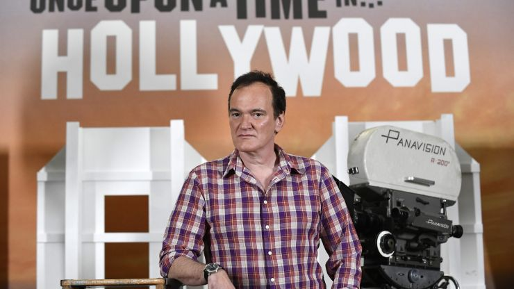 Quentin Tarantino to write 'Once Upon A Time In Hollywood' novel as part of two-book deal