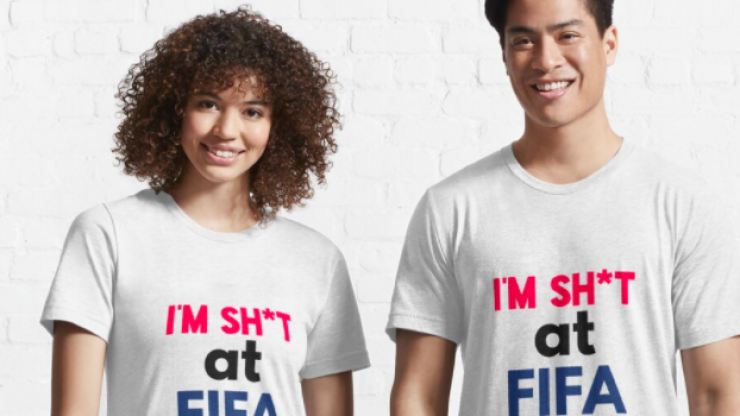 You can now buy a shirt for your mates who are awful at FIFA