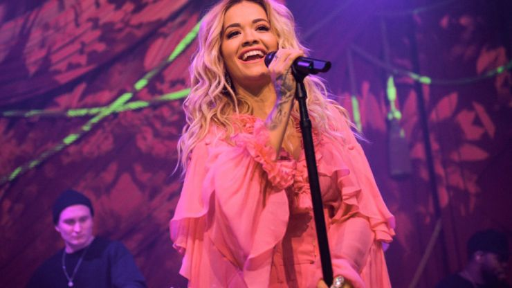 Rita Ora apologises for hosting lockdown-breaking birthday party in London restaurant
