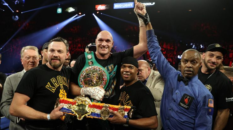 Tyson Fury tells BBC to remove him from Sports Personality of the Year shortlist