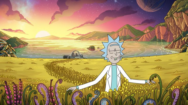 New episodes of Rick & Morty and Big Mouth hit Netflix today