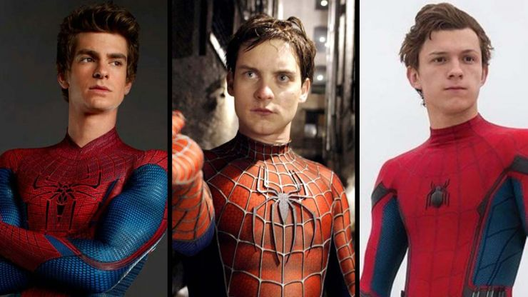 Tobey Maguire, Tom Holland and Andrew Garfield are all set to team up in Spider-Man 3