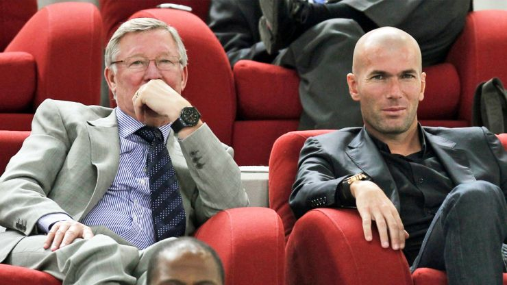Zidane admits his time at Real is limited and he's 'no Alex Ferguson'
