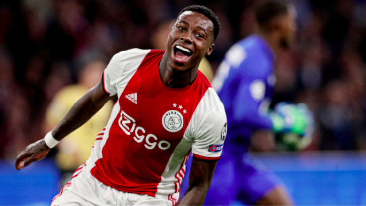 Ajax star Quincy Promes arrested in connection with stabbing earlier this year