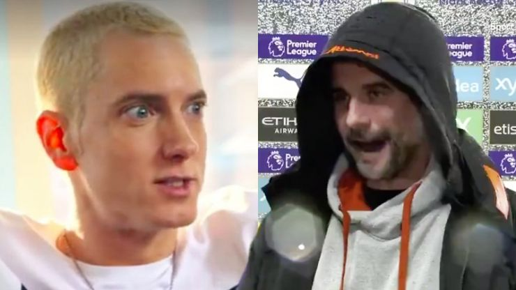 Stunning deepfake shows Guardiola rapping to Eminem's Lose Yourself