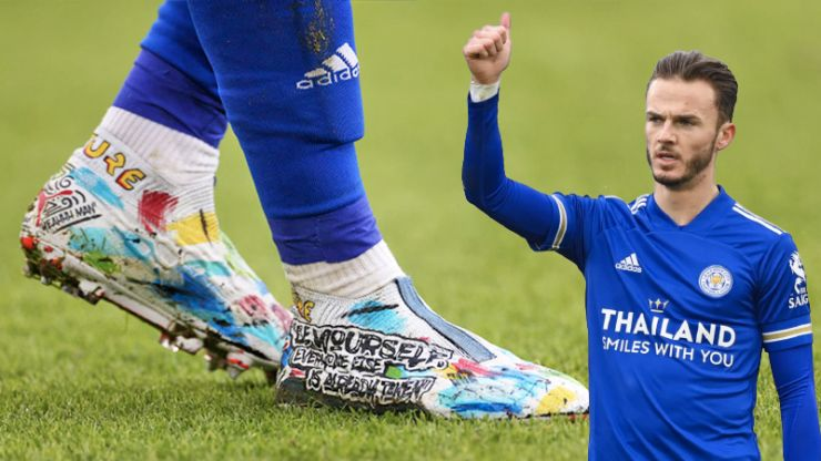 The real reason behind James Maddison's remarkable football boots