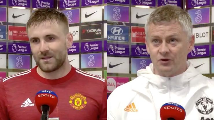 FA decide to take no action against Shaw and Solskjaer for referee comments