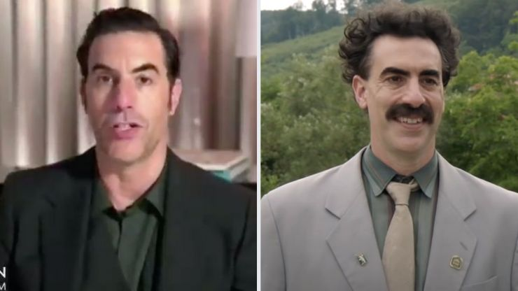 Sacha Baron Cohen says he needed to make Borat 2 to stop Donald Trump