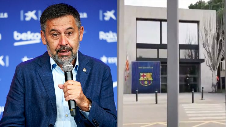 Former Barcelona president Josep Maria Bartomeu arrested after Camp Nou raid