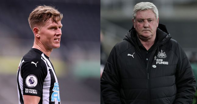Matt Ritchie apologises to Steve Bruce for bust-up in training   JOE.co.uk