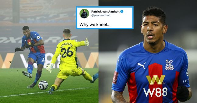 Patrick van Aanholt shares racist abuse after late miss against Man Utd   JOE.co.uk