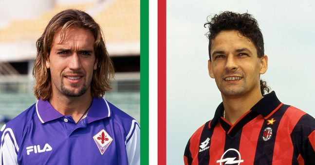 QUIZ: Identify the clubs these Football Italia legends played for - #1   JOE.co.uk