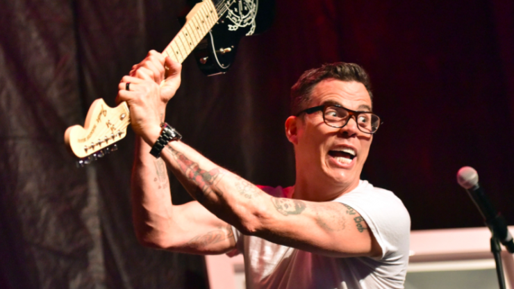 Steve-O from Jackass celebrates 13 years sober from drink and drugs