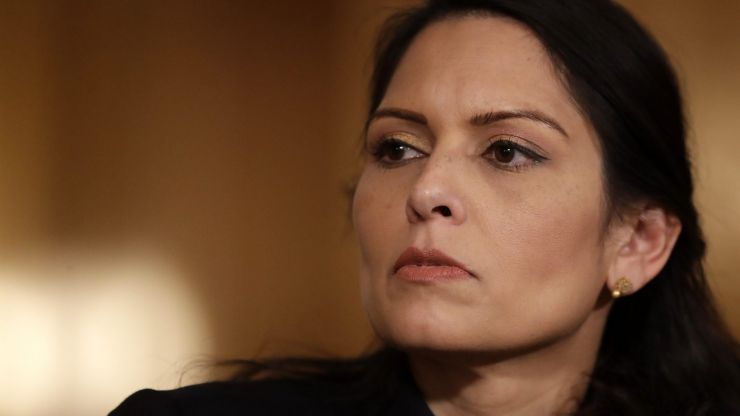 Theresa May urges Priti Patel to reconsider policing bill: 'our freedoms depend on it'