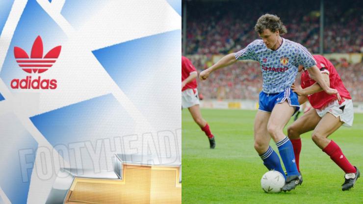 Leaked Man Utd away kit to feature classic adidas logo
