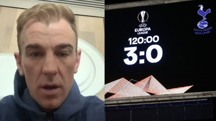 Joe Hart apologises for Instagram post after Spurs Europa League humiliation
